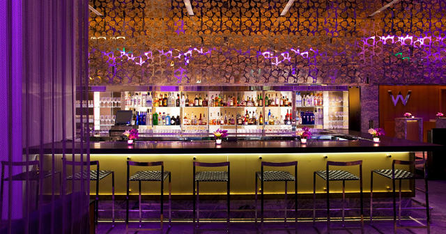 W Lounge at the W offers guest list on certain nights