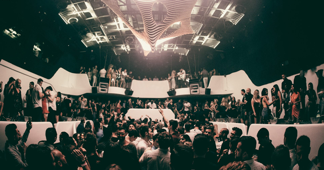 View of the interior of Void after getting free guest list
