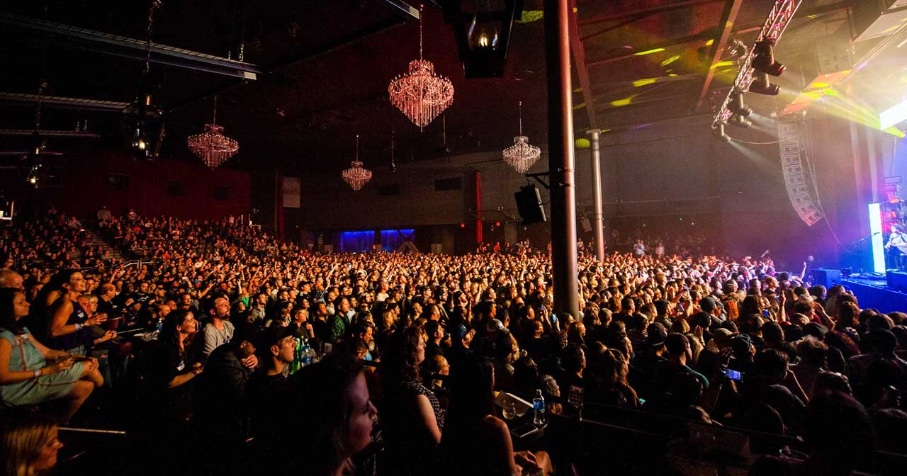 View of the interior of The Fillmore
