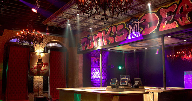 View of the interior of Punk Society