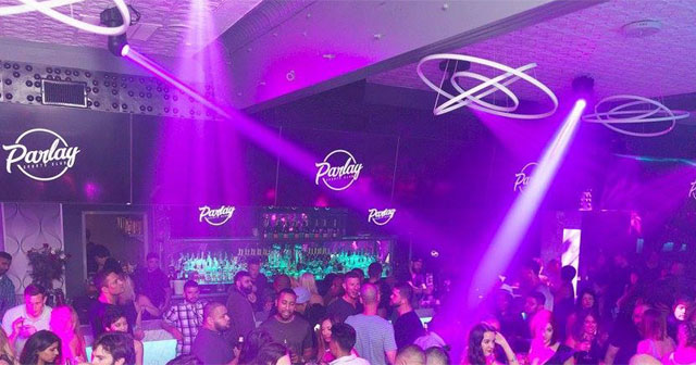Inside look of Parlay with bottle service