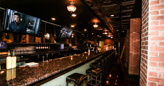 View of the interior of Envy Lounge