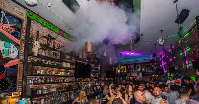 Inside look of El Chingon with bottle service