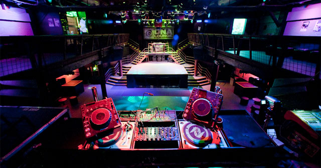 View of the interior of DNA Lounge