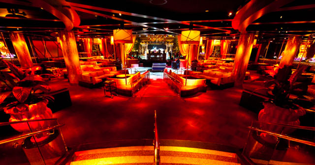 View of the interior of XS after getting free guest list