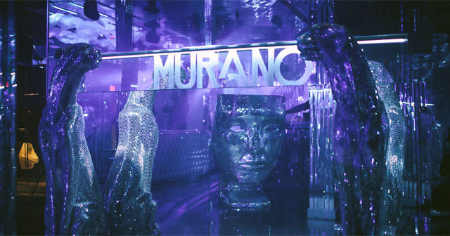 View of the interior of Murano after getting free guest list