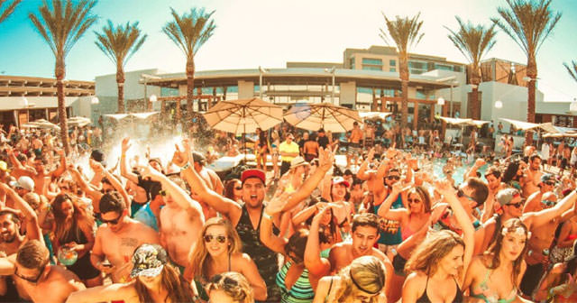 Inside look of Maya Dayclub after getting free guest list