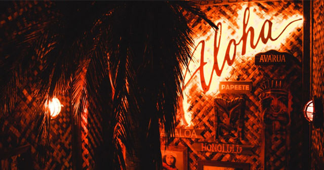 Inside look of Mahiki Mayfair with bottle service