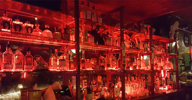 Inside look of Bossa Nova Civic Club with bottle service