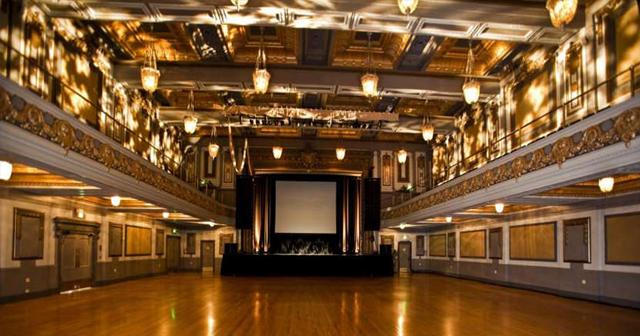 View of the interior of Regency Ballroom