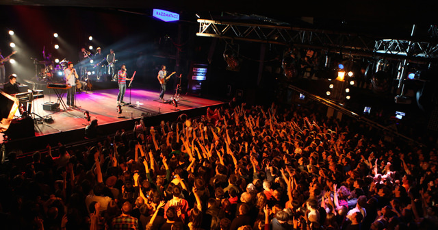 View of the interior of Razzmatazz after getting free guest list