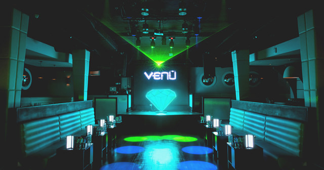 View of the interior of Venu after buying tickets