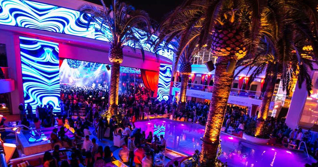 View of the interior of Drai's Nightclub