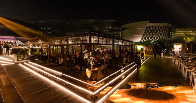 View of the interior of Soho Garden after getting free guest list
