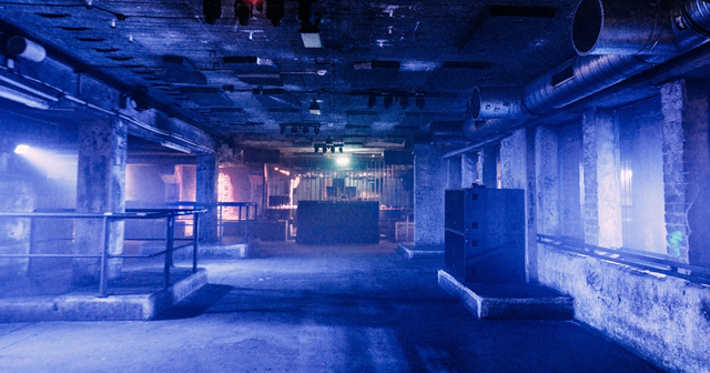 View of the interior of Tresor after getting free guest list
