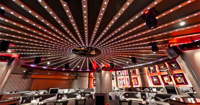 View of the interior of Opera Ultra Lounge