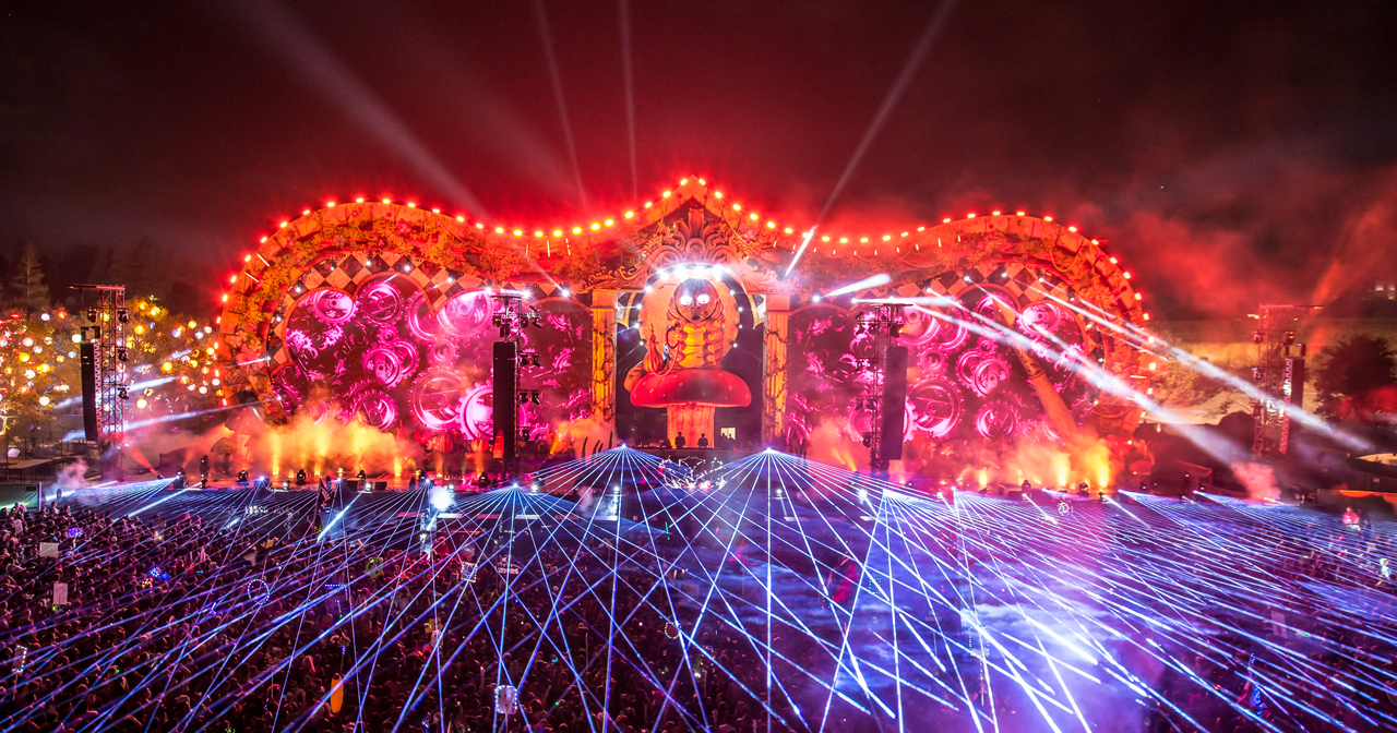 Beyond Wonderland at The Gorge