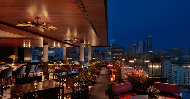 Inside look of Everdene Rooftop after buying tickets