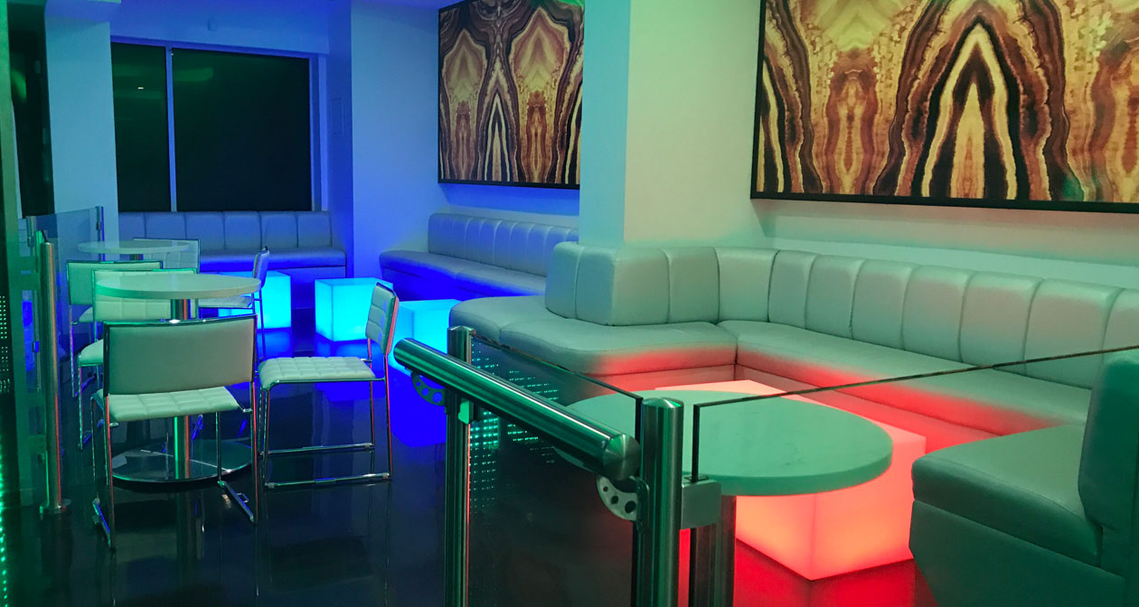 View of the interior of Escape Lounge after getting free guest list
