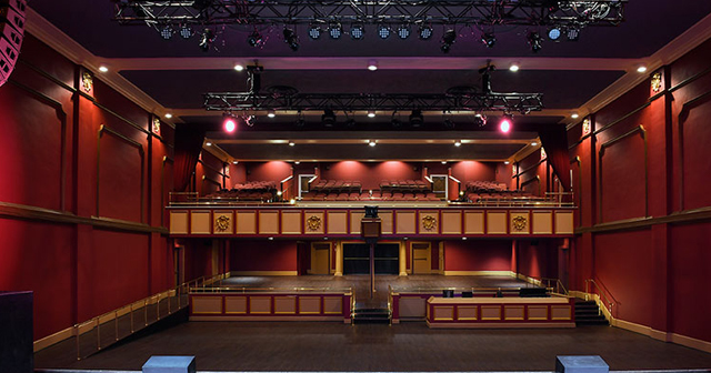View of the interior of Buckhead Theatre after getting free guest list