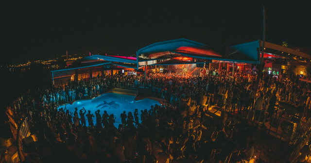Inside look of Cavo Paradiso with bottle service