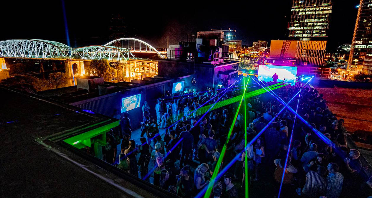 View of the interior of Nashville Underground after getting free guest list