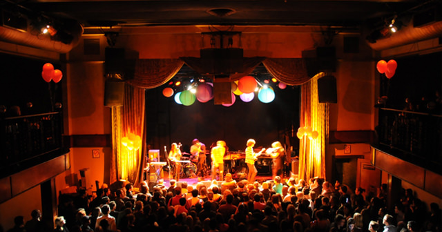 View of the interior of Bowery Ballroom