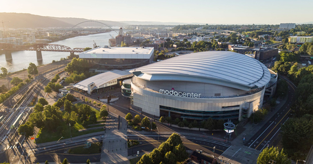 Inside look of Moda Center after getting free guest list