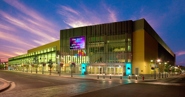 Inside look of Reno Events Center after getting free guest list