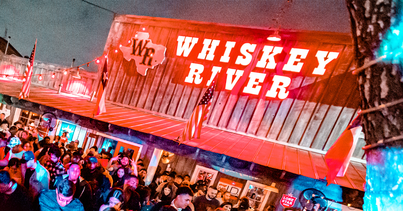Inside look of Whiskey River North after getting free guest list