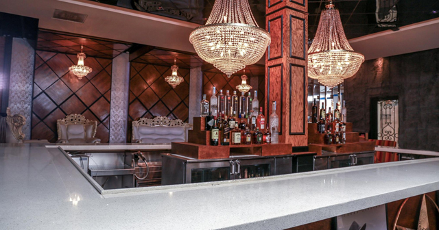 Inside look of Stars and Spirits with bottle service