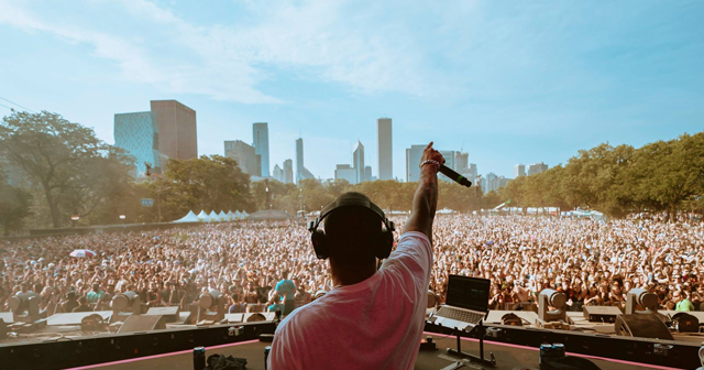 View of the interior of Lollapalooza