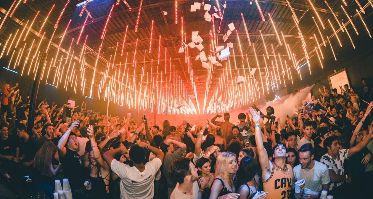 Inside look of Bajas Beachclub after getting free guest list