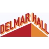 Delmar Hall logo