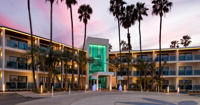 Marina Del Rey Hotel Pool offers guest list on certain nights