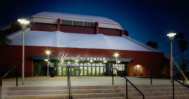 View of the interior of Yuengling Center