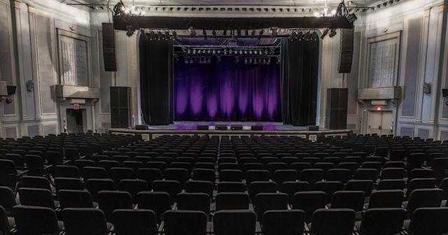 View of the interior of Danforth Music Hall after getting free guest list