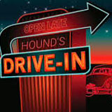 Hounds Drive-In Theater logo