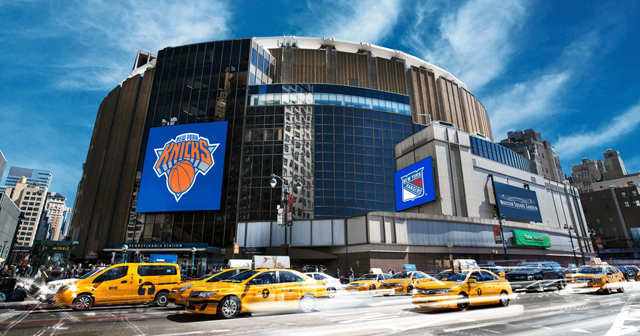 Inside look of Madison Square Garden with bottle service