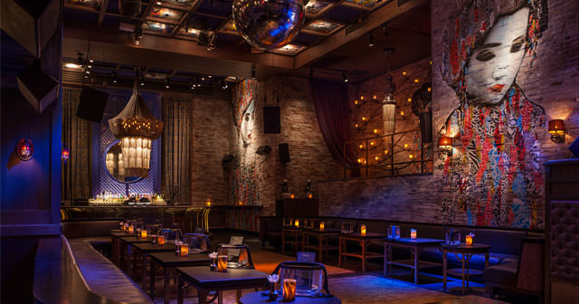 Inside look of Tao Downtown with bottle service