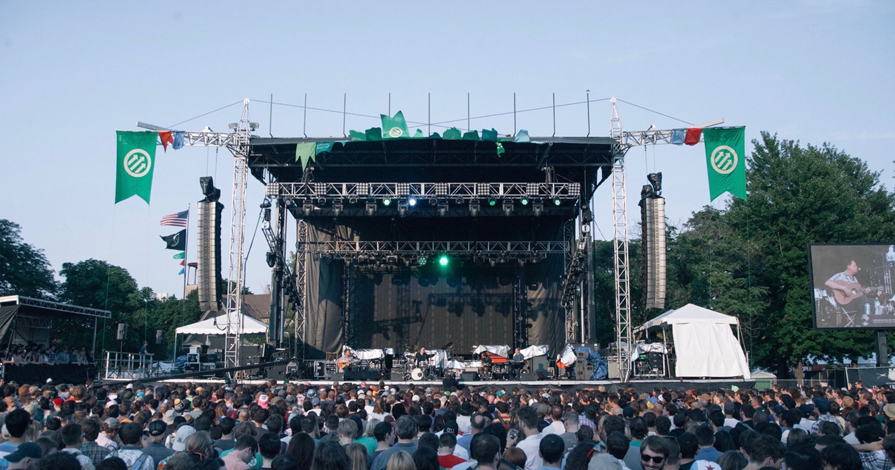 Inside look of Pitchfork Music Festival with bottle service