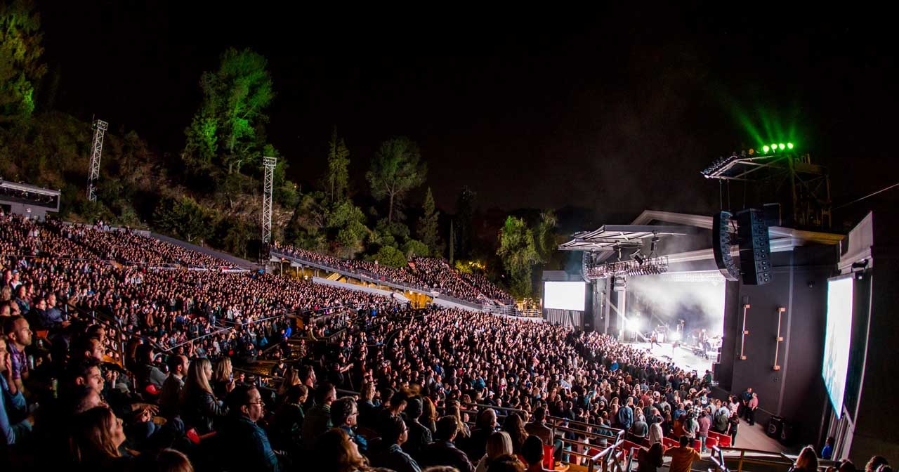 The Greek Theatre offers guest list on certain nights
