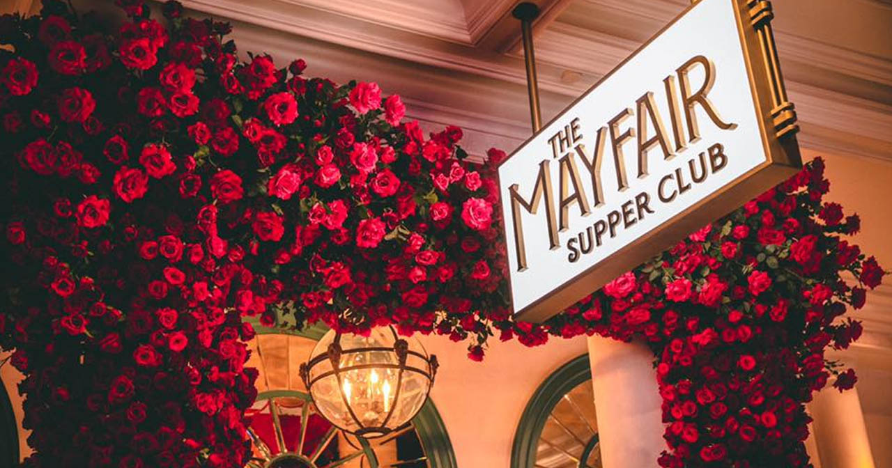 Inside look of Mayfair After Dark with bottle service