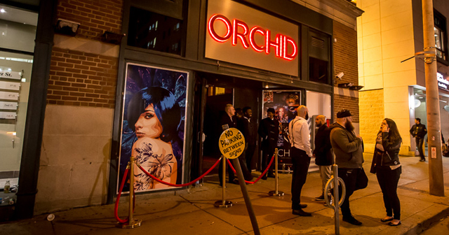 Inside look of Orchid with bottle service
