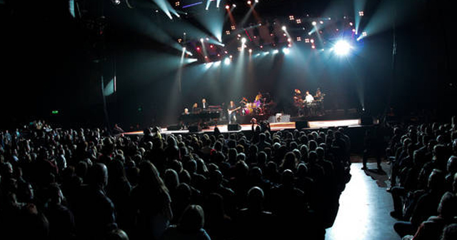 View of the interior of Reno Events Center after getting free guest list
