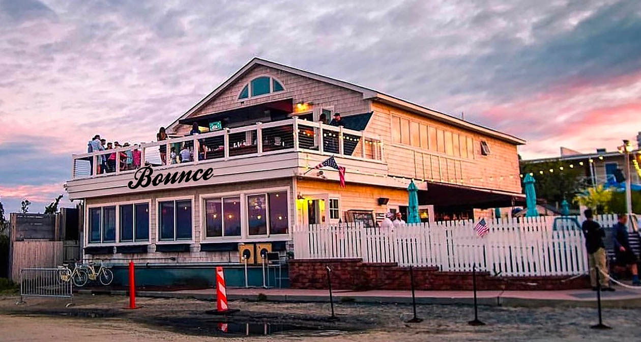 Inside look of Bounce Beach Montauk after getting free guest list