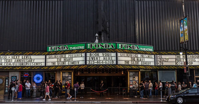 Inside look of Fonda Theatre after getting free guest list