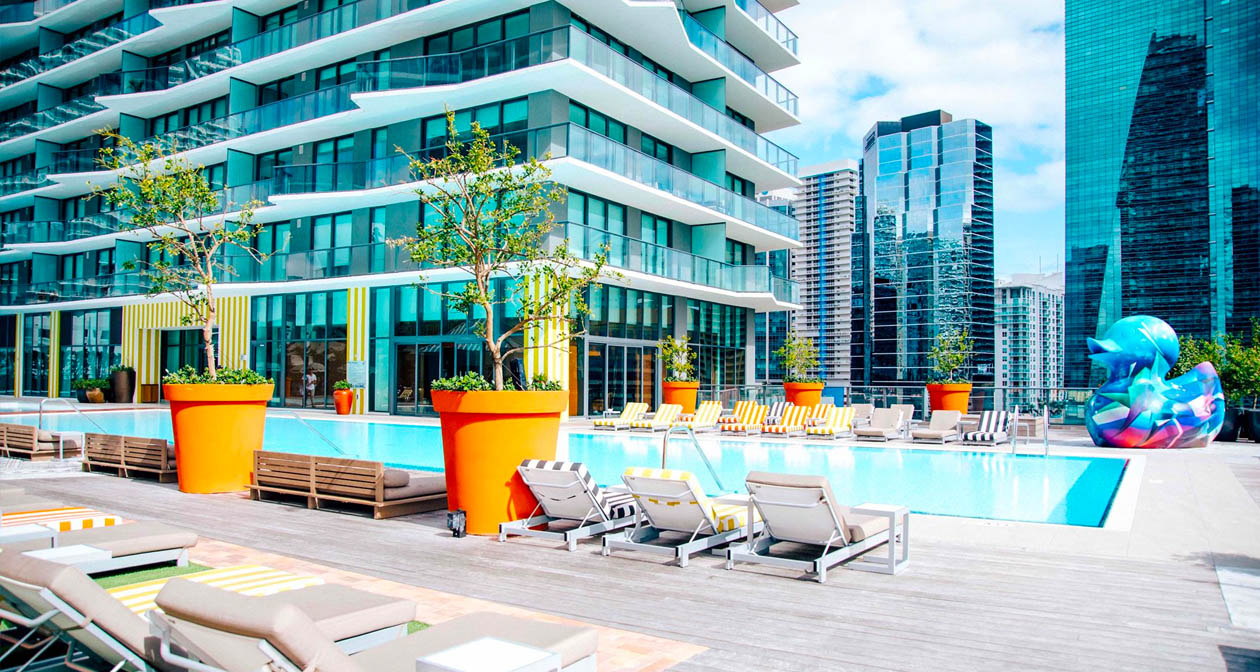 Altitude Pool at SLS Brickell offers guest list on certain nights