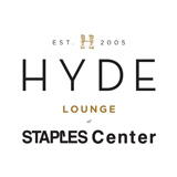 Hyde Lounge Staples Center logo