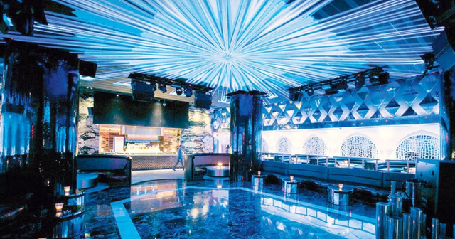 View of the interior of Bond at SLS Baha Mar after buying tickets